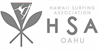Hawaii Surfing Association - Oahu logo